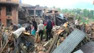 Massenflucht aus Kathmandu