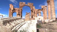 Antikenstadt Palmyra in Syrien von Terrormiliz bedroht