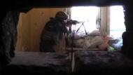 Kugelhagel in der Ostukraine