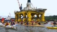 Kampf um Ölbohrungen in der Arktis