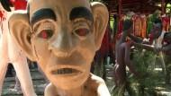 Die Hölle auf Erden: Zombie-Tempel in Thailand
