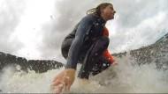 Die perfekte Welle für Surfer in Wales