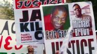 Ein Jahr Rassismus-Debatte in Amerika