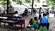 Kritik an Versorgung von Flüchtlingen