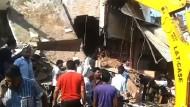 Dutzende Tote bei Gasexplosion in Restaurant