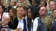Prinz Harry trifft die Obamas