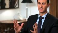 Assad will ganz Syrien zurückerobern