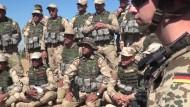 Ausländische Militärs bilden Peschmerga-Kämpfer aus