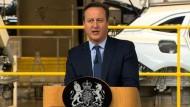 David Cameron wirbt für Verleib in der EU