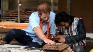 Prinz Harry zu Besuch in Nepal