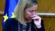 Außenbeauftragte der EU bricht in Tränen aus