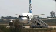 Flugzeug-Entführer festgenommen