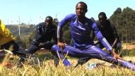 Flüchtlinge trainieren für Olympia