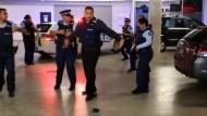 Tanzende Polizisten in Neuseeland