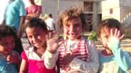 Dorfbewohner in Syrien von IS befreit