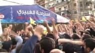 Libanesen schießen bei Festen in die Luft