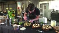 Gehobene Küche trifft auf Kifferfantasien