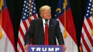 Trump äußert Bedauern über seine harsche Wortwahl
