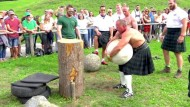 Die Highland-Games in Bayern