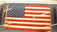 Lange verschollene Flagge kehrt an Ground Zero zurück
