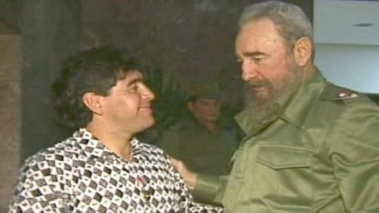 """Maradona verliert mit Fidel Castro einen """"zweiten Vater"""""""