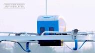 Amazon verschickt erstmals Paket per Drohne