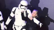 Carrie Fisher kämpft ums Überleben