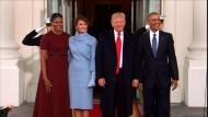 Obama empfängt Trump zum Tee