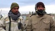 Irakische Soldaten sind über Trumps Einreisestopp empört