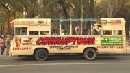 Skurrile Stadtrundfahrt in Mexiko: Ausflug zu kriminellen Orten
