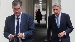 Britische Regierung wirft Abweichler aus Fraktion