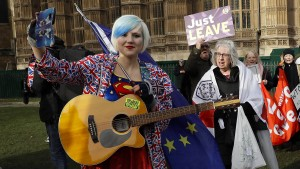 Ein Supergirl gegen den Brexit