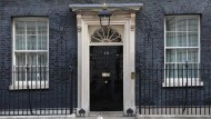 Bald vakant? Der Amtssitz der britischen Premierministerin in Downing Street 10 in London.