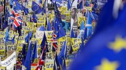 EU informiert Bürger über mögliche Brexit-Folgen