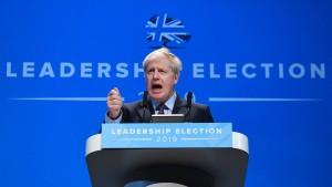 Johnson bekräftigt Willen zu Brexit-Nachverhandlungen