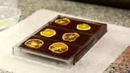 Handgemachte Schokoladenkunst