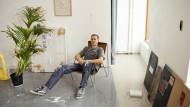 Der Künstler und Schriftsteller Matias Faldbakken