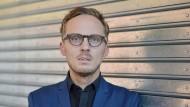 Hauptkampfgebiet menschlicher Geist: Michal Hvorecký im Oktober in Frankfurt