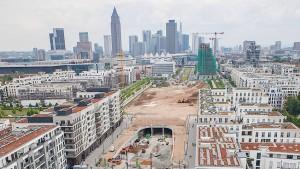 Neubauviertel wie Filteranlagen für Menschen