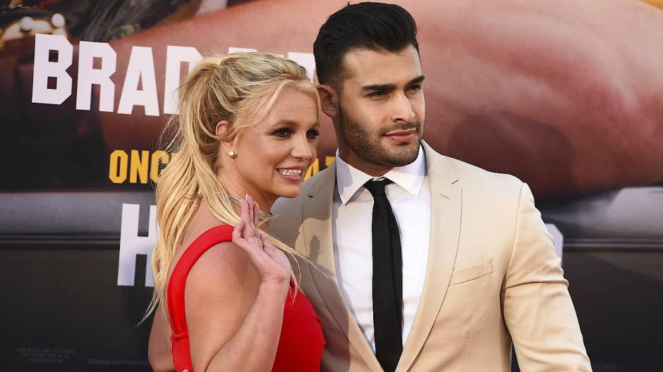 Ein normales Leben wäre ein Anfang, dann heiraten und ein Baby: Britney Spears und Sam Asghari, seit fünf Jahren ein Paar.