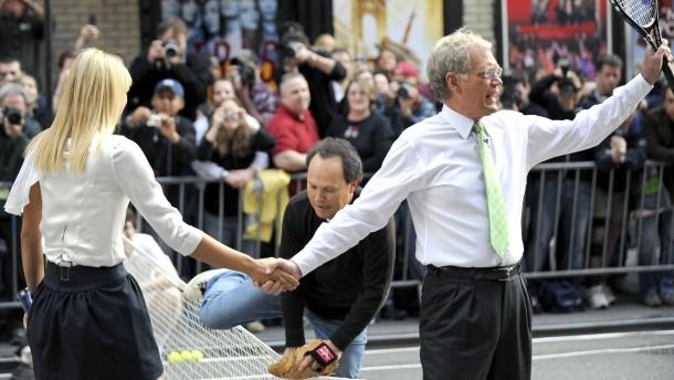 Oh, mein Gott, Letterman hört auf