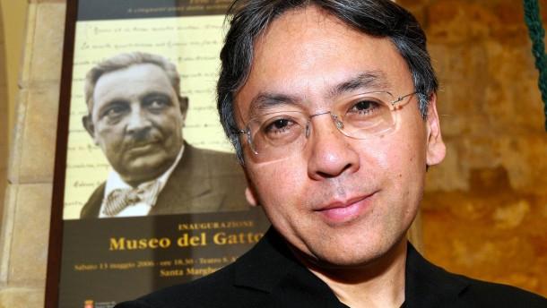 Literaturnobelpreis geht an Kazuo Ishiguro
