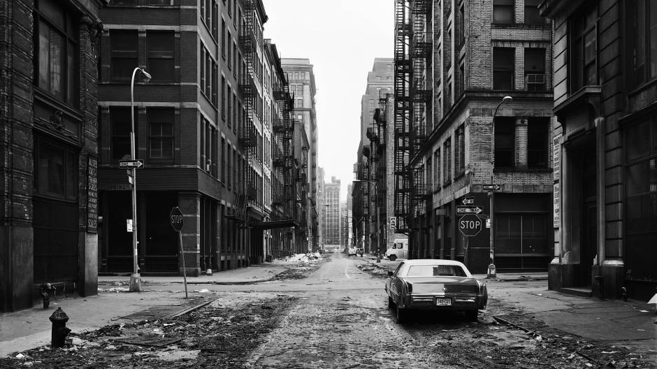 Thomas Struths Crosby Street, Soho, New York, aufgenommen 1978