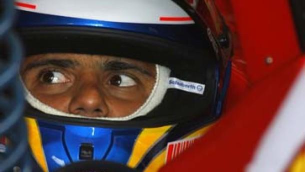 Ferrari-Pilot Massa fährt allen davon