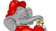 Vor diesem Elefanten muss niemand Angst haben: Benjamin Blümchen, erdacht von Elfie Donnelly