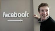 Der junge Mark Zuckerberg, 2007