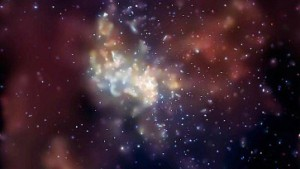 Im Zentrum der Galaxis