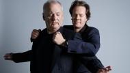 Ulkiges Paar: Bill Murray und Jan Vogler
