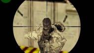 """Screenshot aus dem Computerspiel """"Counterstrike"""" des Herstellers Sierra Entertainment"""