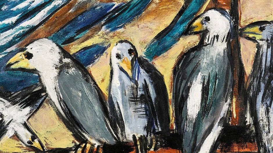 """Max Beckmanns """"Möwen im Sturm"""" (1942) gehört zu den Werken, die unter die Räder kommen. Ein Sturm der Entrüstung wäre angebracht."""